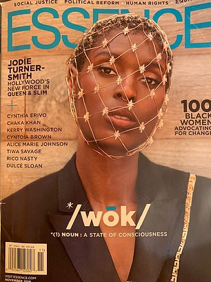 Essence Front cover of Nov 2019 Nkechi I