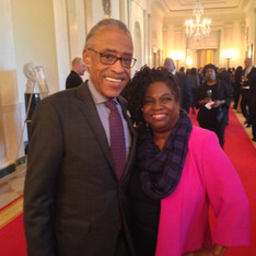 with Rev. Al Sharpton