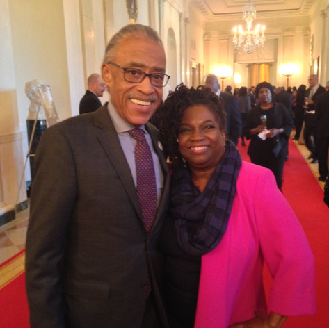 with Rev. Al Sharpton