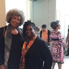 with Angela Davis