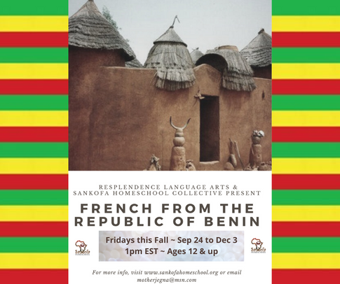 Benin French - Fall 2021