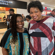 with Stacey Abrams