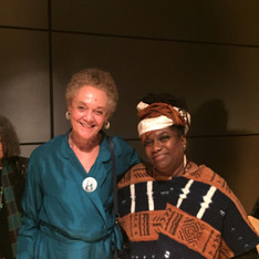 with Kathleen Cleaver