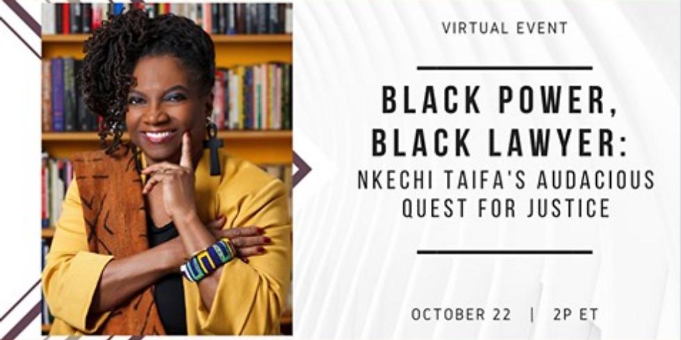 Raben Group Book Talk - Featured Guest: Nkechi Taifa