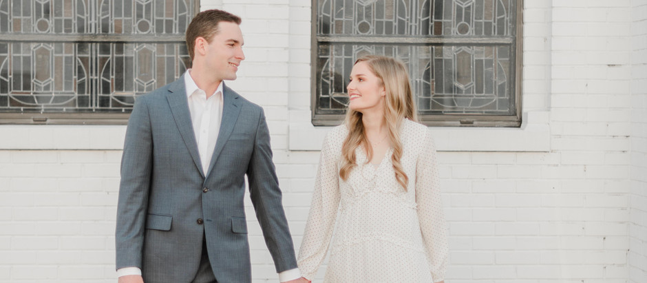 Cody & Becky's Downtown Engagement Session