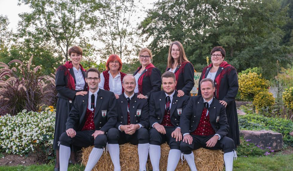 Vorstand  Trachtenkapelle Nordrach