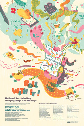 National Portfolio Day, Poster