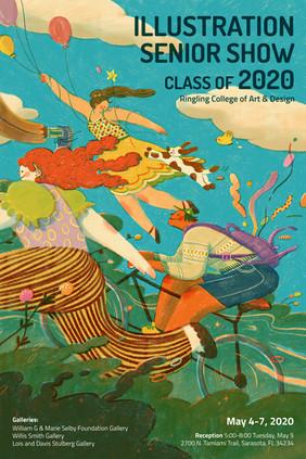 2020 Illustration Senior Show, Poster