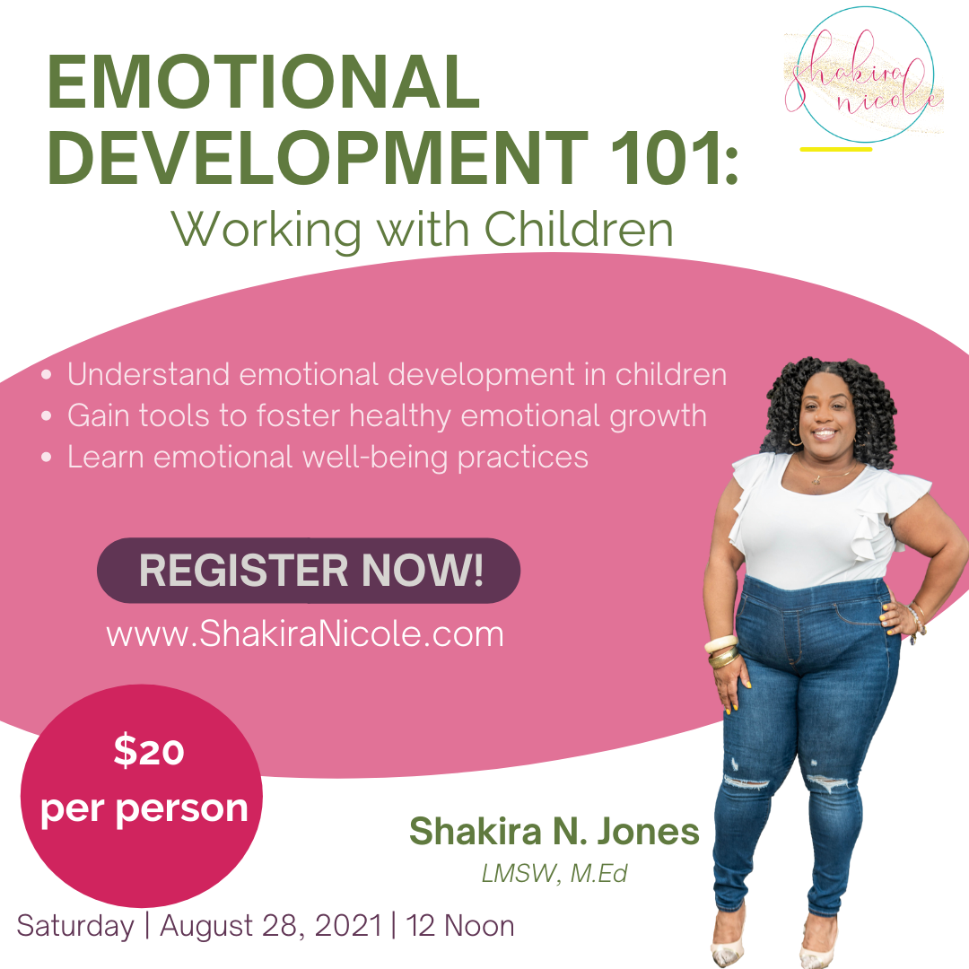 Emotional Development 101
