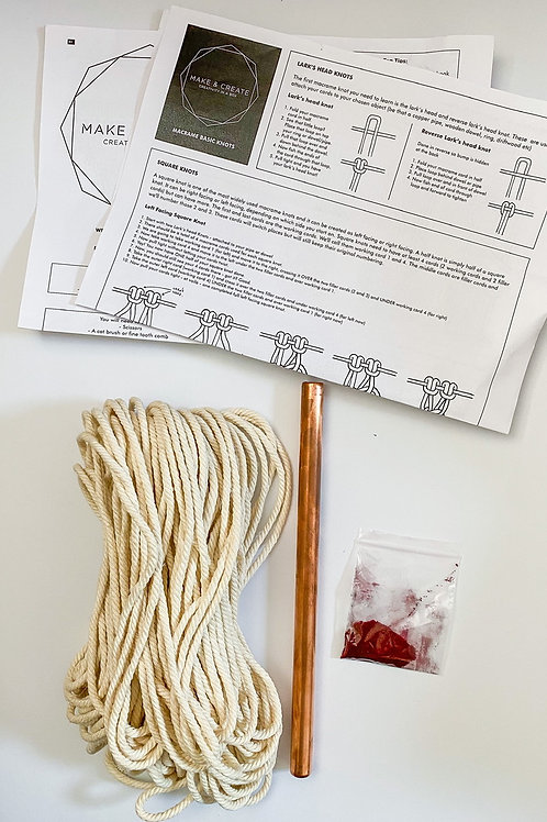 Macrame Wall Hanging Kit