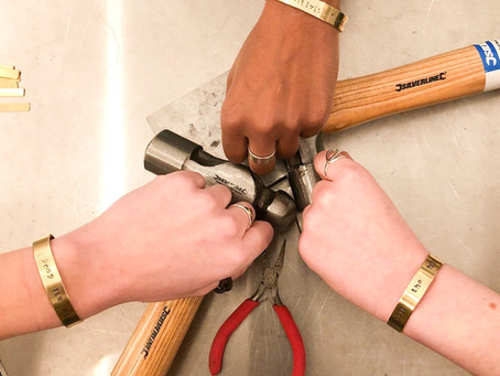How to...hand stamp your own jewellery at home