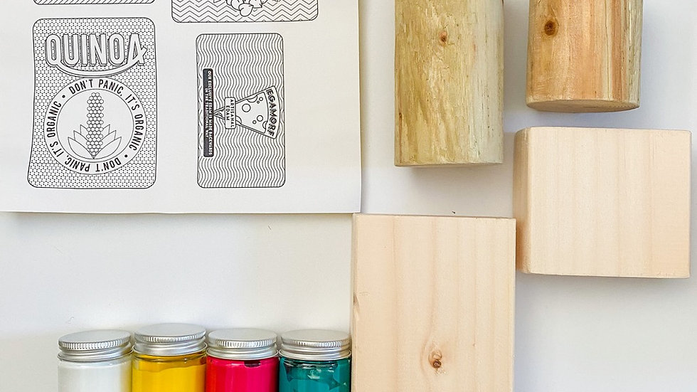 DIY Hipster Children's Play Food Kit