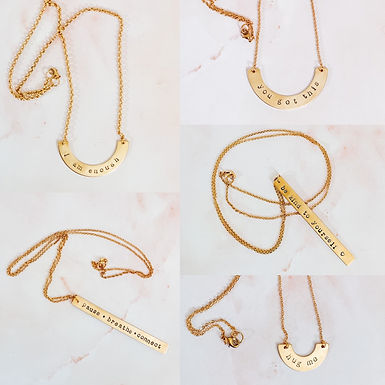 Mental Health Jewellery Collection
