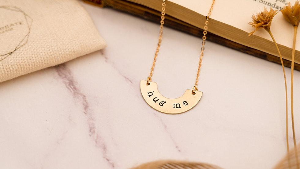 """Hug Me"" necklace"