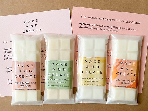 Neurotransmitter Soy Wax Melt Collection