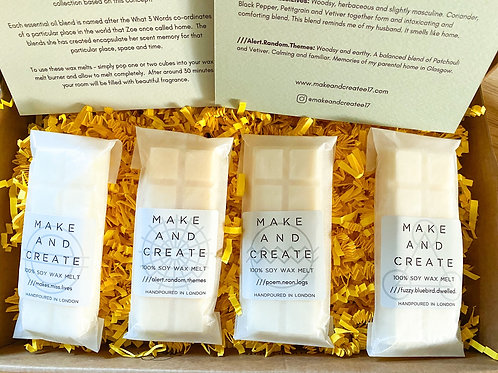 Scent Memory Collection Soy Wax Melts