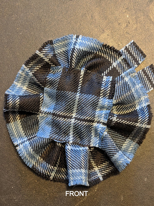 Handmade Tartan Fabric Scottish Blossom