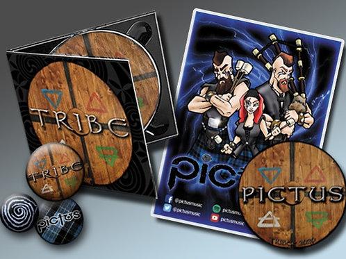 """TRIBE"" CD PRE-ORDER BUNDLE"