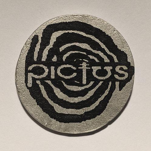 Pictus Pewter Pin