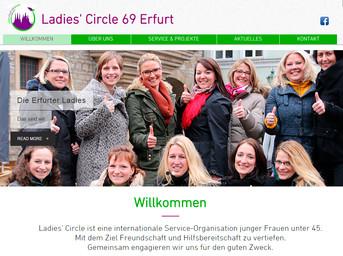 Neue Website für Ladies' Circle 69 Erfurt