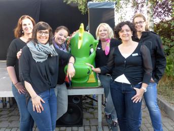 """LC 69 Erfurt in Aktion im August: Unterstützung beim """"Drachenfest"""" auf dem Wiesenhügel"""