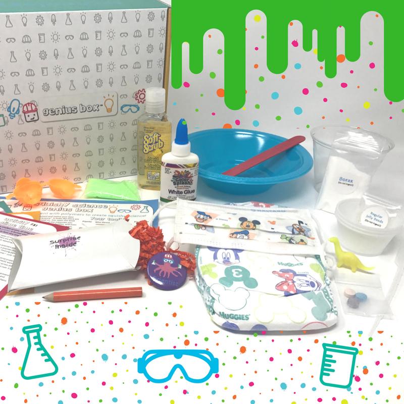 Squishy Science Genius Box