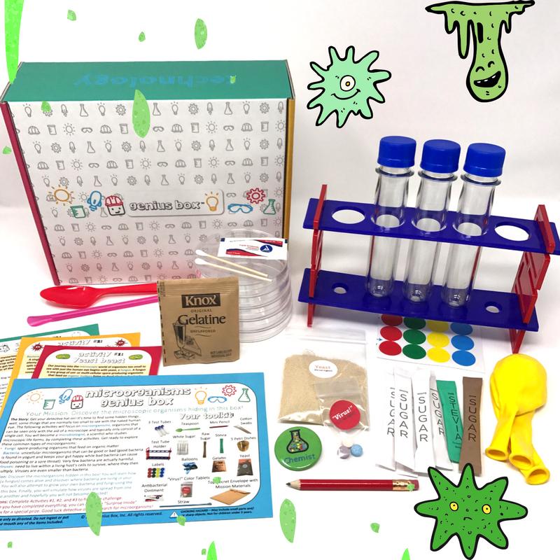Microorganisms Genius Box