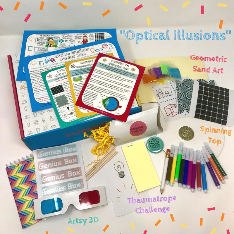 Optical Illusions Genius Box