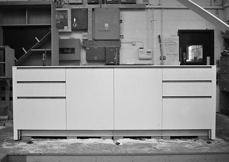 Workshop kitchen island