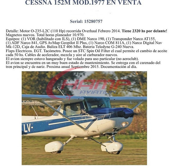 Cessna 152/1977