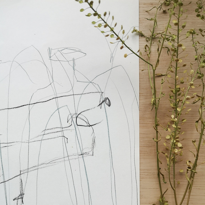 Experimental Drawing in the studio