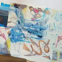 Sally-Anne Ashley - intuitive art workshop