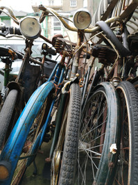 Old bicycles - inspired by repetition