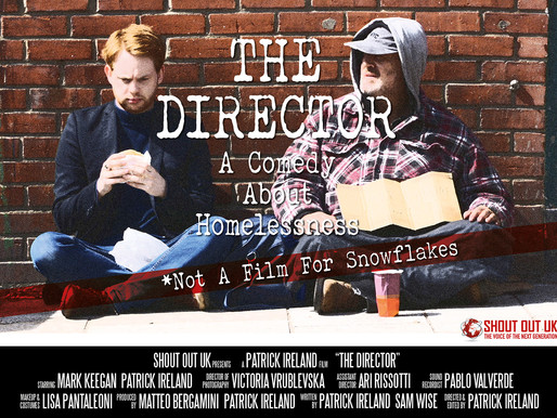 The Director: A Comedy About Homelessness short film