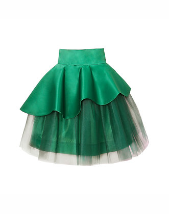 Layered Deep Green Tutu Skirt