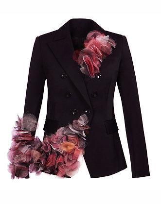 Black Flower Jacket