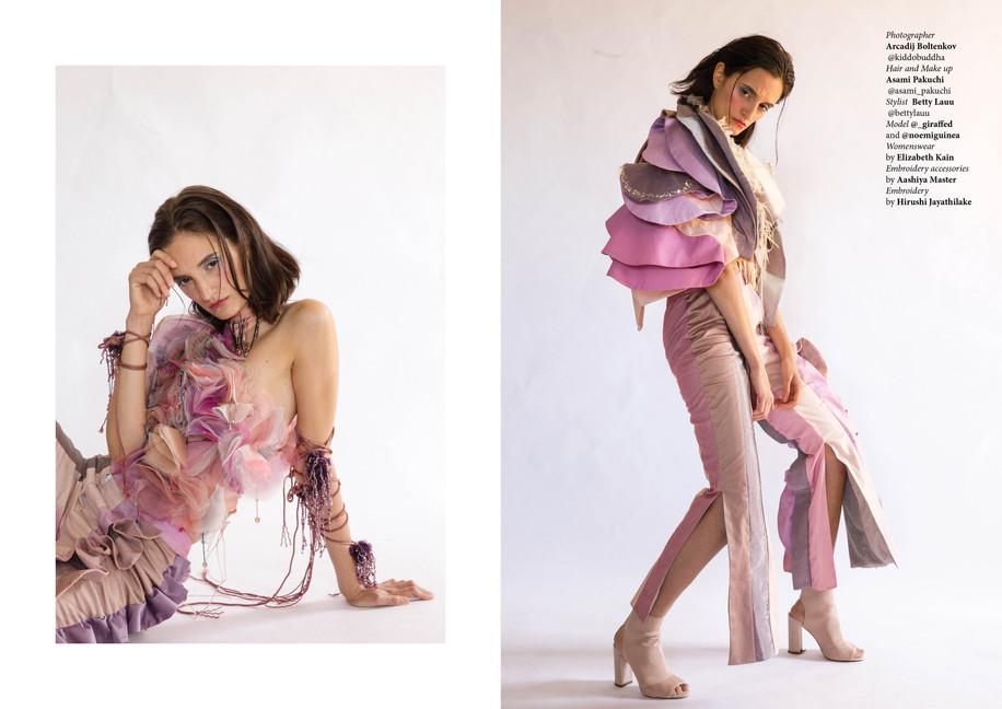 Liza Kain S/S 18 Lookbook