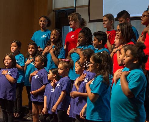 music youth choir singing sing