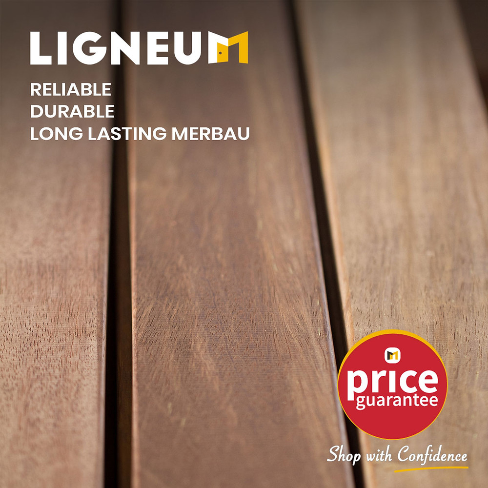 Merbau Decking 90mm x 19mm
