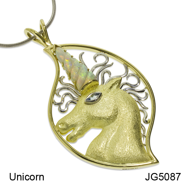 Unicorn Pendant - JG5087
