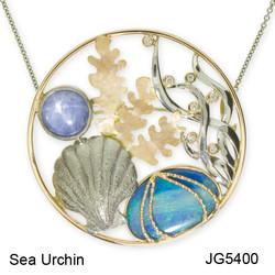 Sea Urchin Brooch JG5400