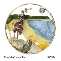 Joanne Gowan. Cornish Coastal Path