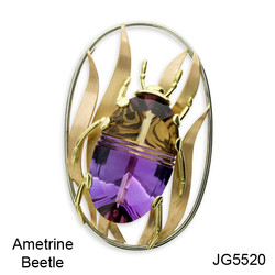 Ametrine Beetle JG5520