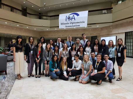 ICO Attends IOA Convention