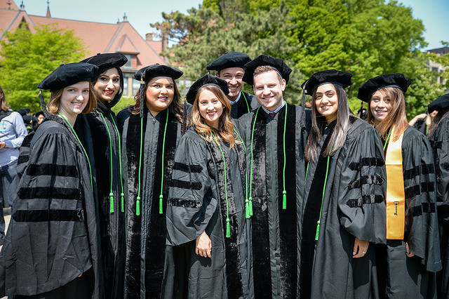 Illinois College of Optometry Graduates at Commencement