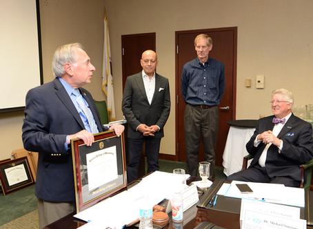 ICO Honors Exiting Board Members