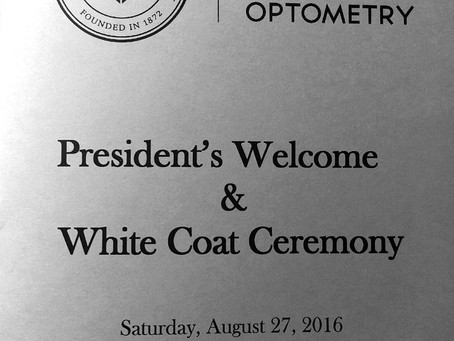 White Coat Ceremony Class of 20/20