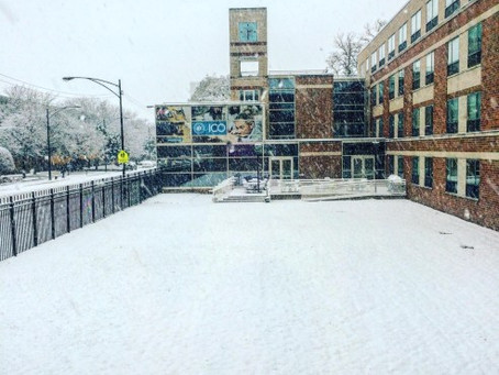 Chicago's First Snowfall (of the season…)
