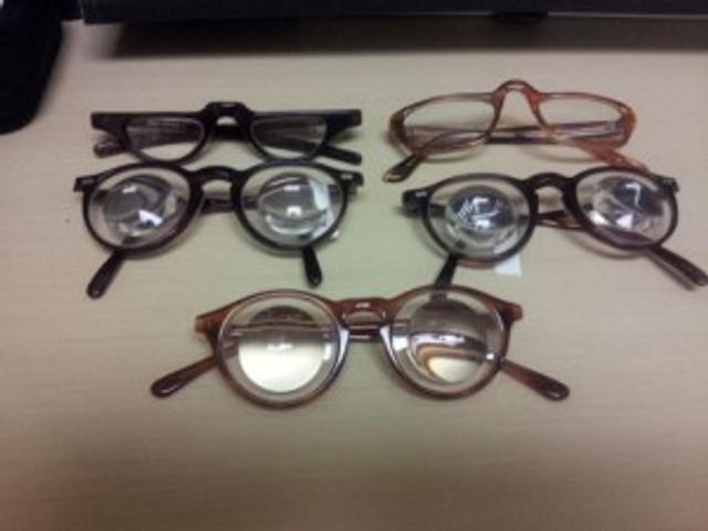 lots of glasses