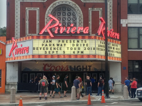 Visiting the Riviera Theatre in Chicago